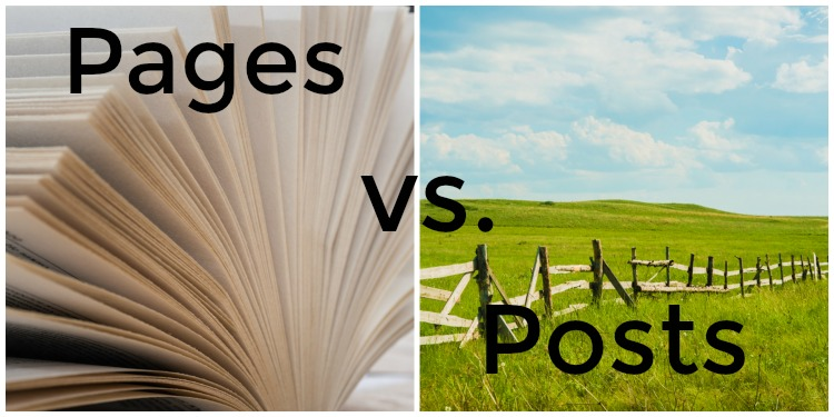 pages vs posts